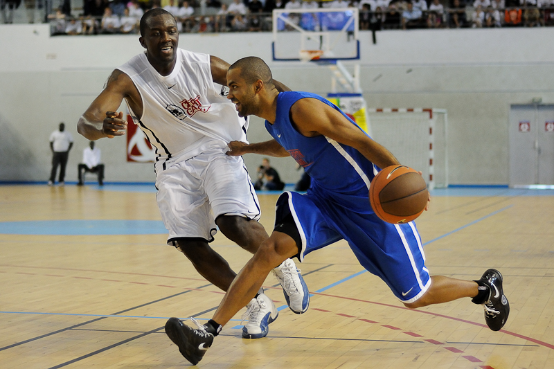 Gameday 2011 - Basket - Bordeaux - Tony Parker - Mickaël Bonnami Photographe