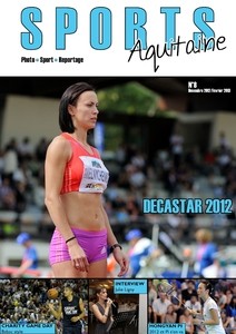 Couverture magazine Sports Aquitaine N°8 - Décastar - Charity Game Day - Hongyan Pi