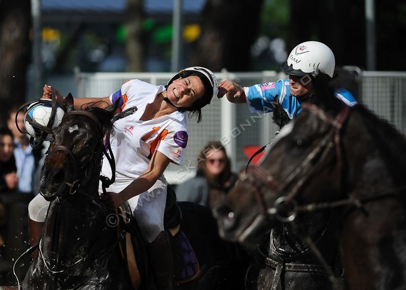 Championnat de France Elite de Horse Ball - Foire expo de Bordeaux