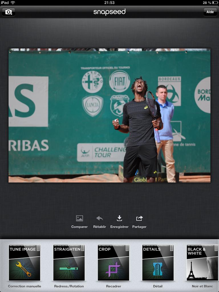 Application Snapseed - Ipad - Apple