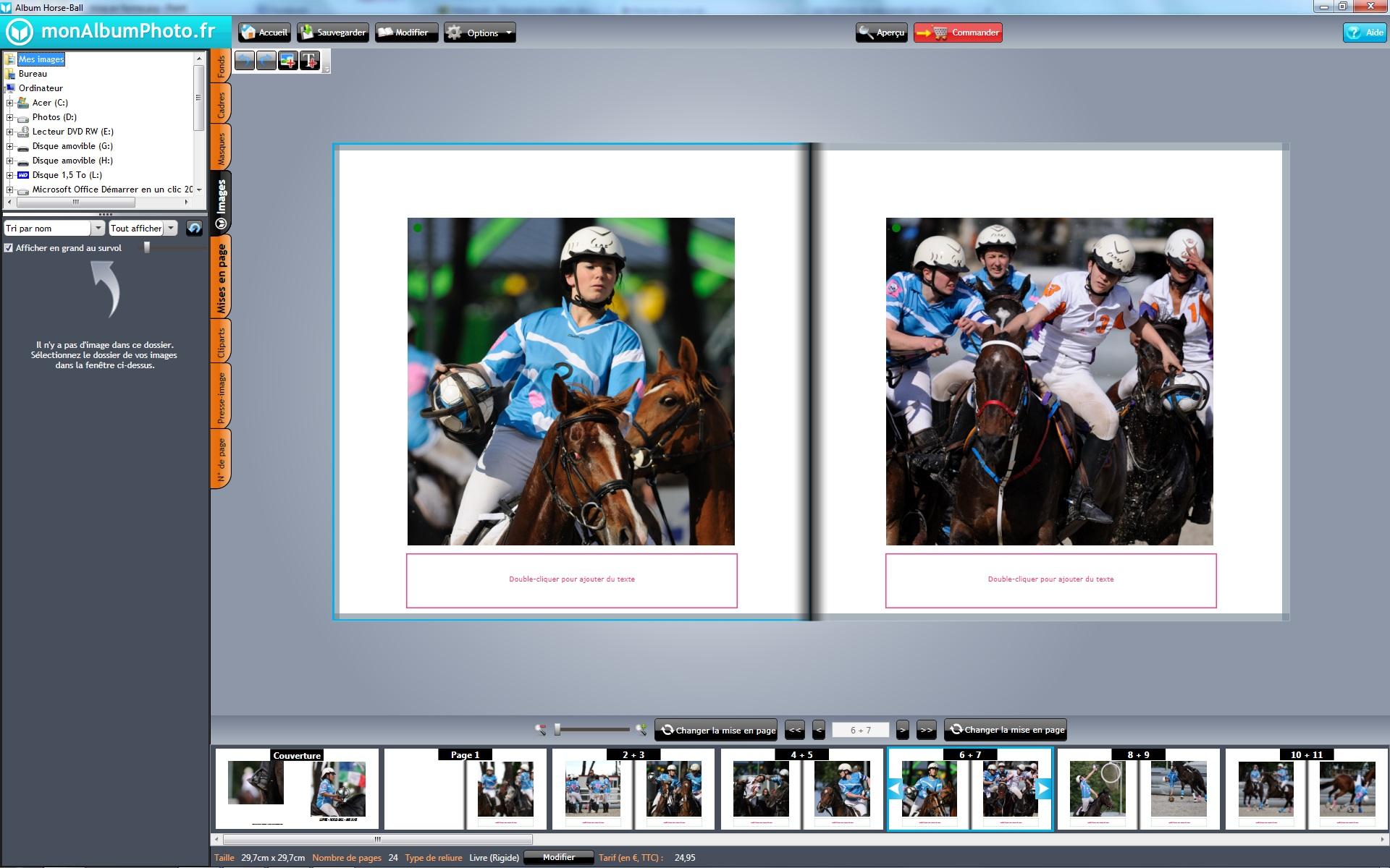 Test livre photo monalbum.fr - Pages du livre