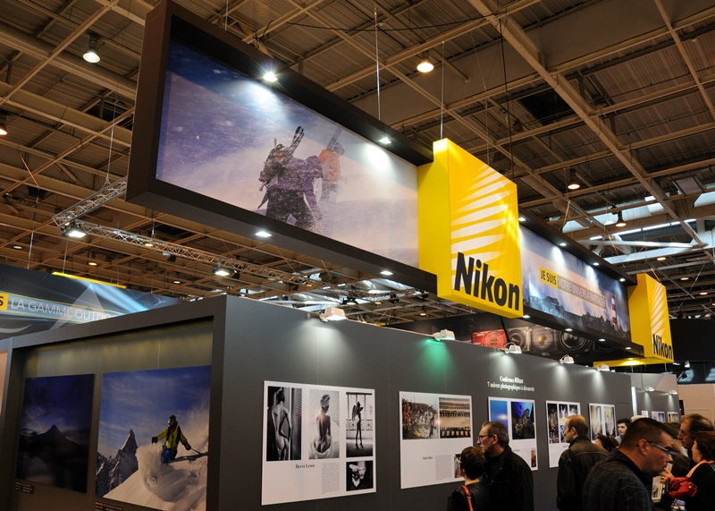 Salon de la photo 2013 - Stand Nikon