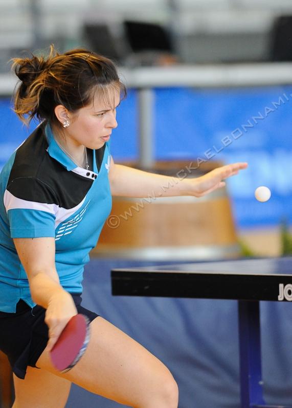 Tournoi international de Cognac 2014 - Tennis de Table - Aurore Dessaint
