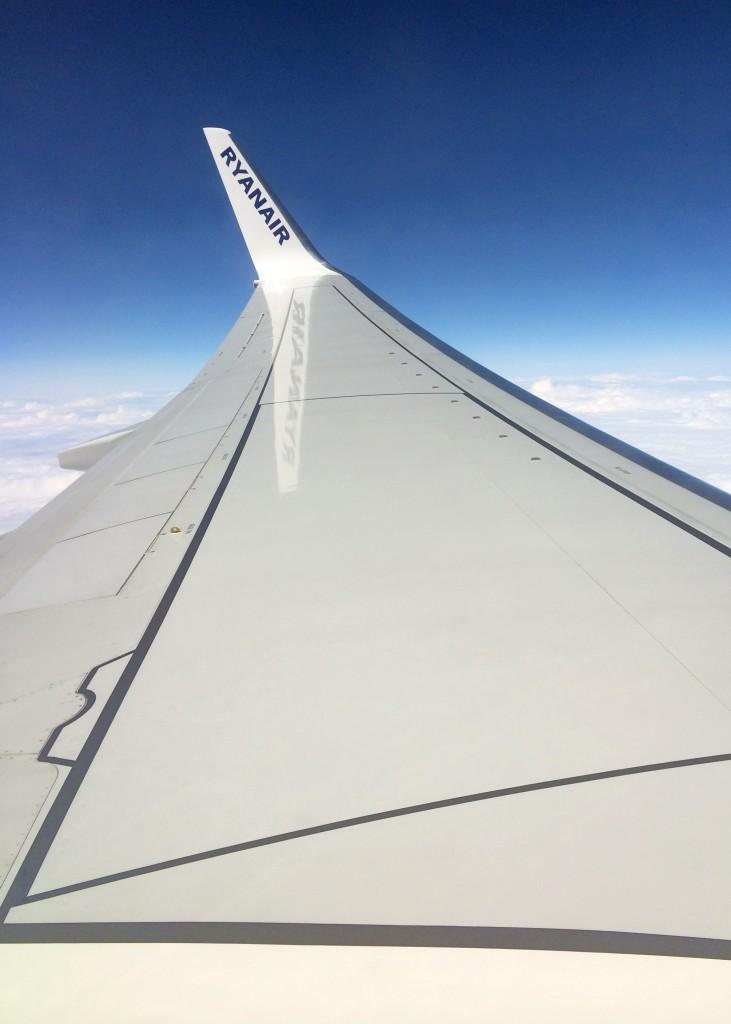 Avion Ryanair - Bordeaux - Edimbourg - Ecosse
