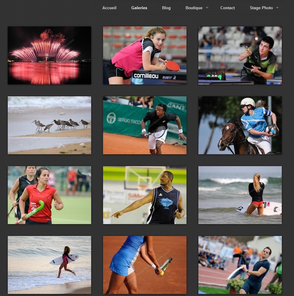 Galeries photo - Site web - Mickaël Bonnami - Photographe