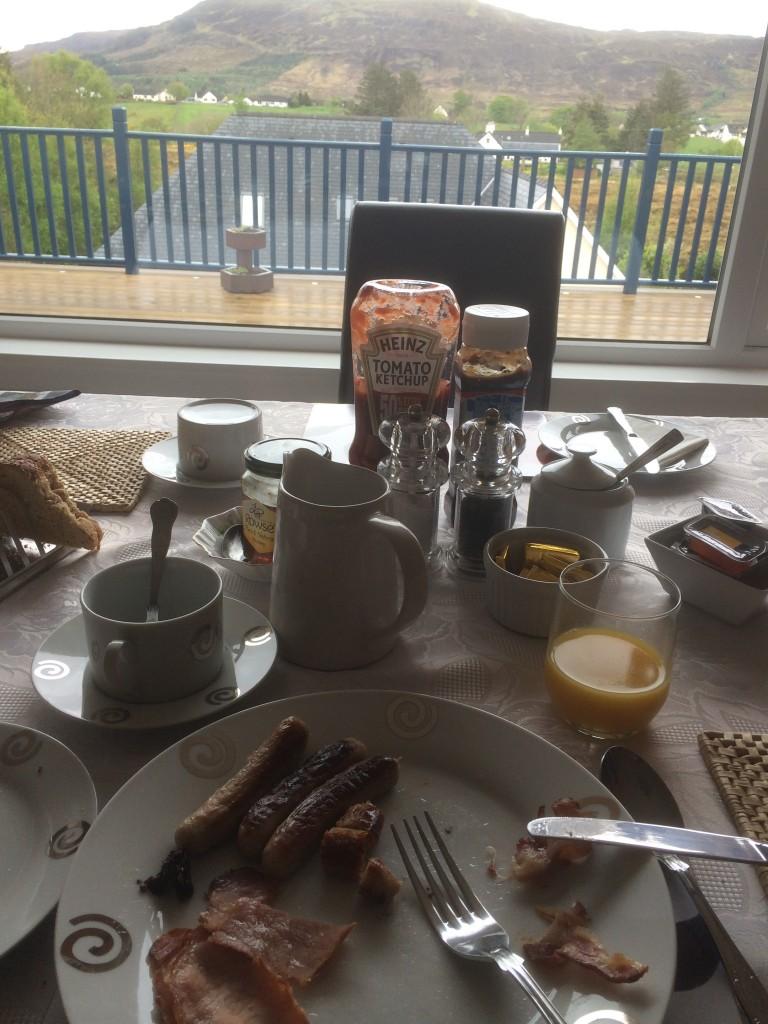 Petit déjeuner sur l'Ile de Skye - Portree - Ecosse