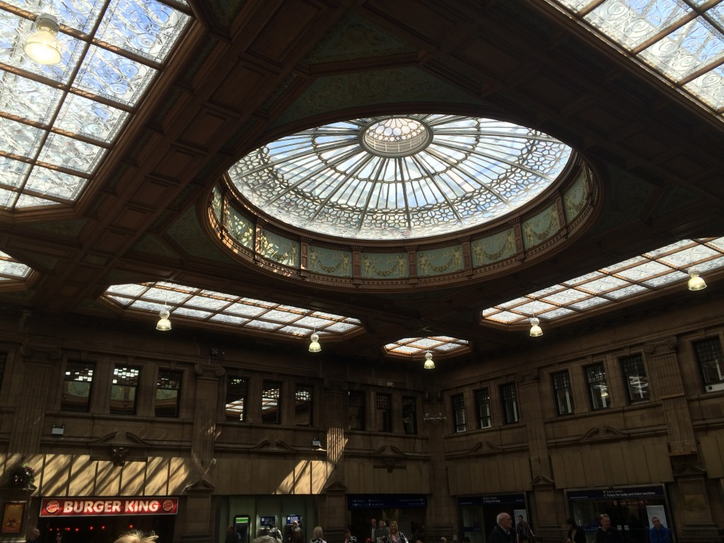 Gare ferroviaire d'Edimbourg - Ecosse