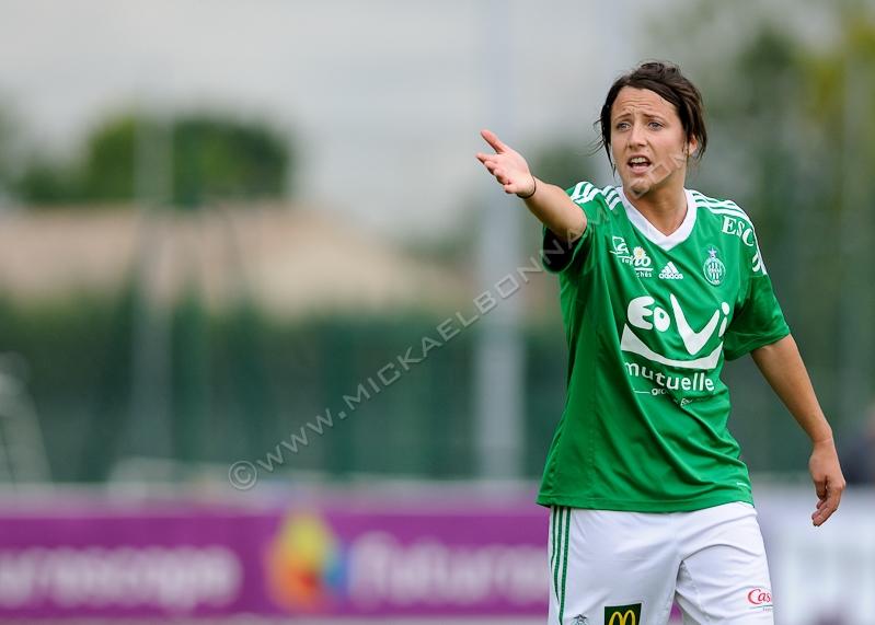 Soyaux-Saint Etienne Championnat de France de D1 - Football Féminin