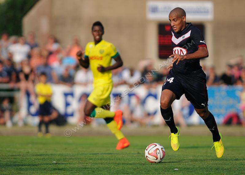 Girondins de Bordeaux - Nantes - Football - Khazri