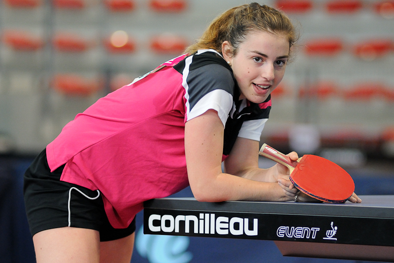 Championnats de France de Tennis de table 2013 - Agen - Marina Berho