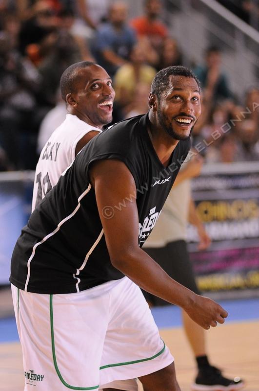 GameDay 2014 - Bordeaux - Boris Diaw - Nicolas Maurice-Belay - Basket