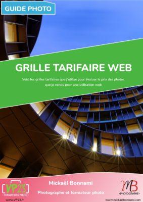 Grille tarifaire web - Vendre ses photos - Guides photo - VP23 - Mickaël Bonnami Photographe
