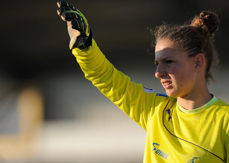 Soyaux-Lyon - Football féminin - Amandine Guérin - Mickaël Bonnami Photographe