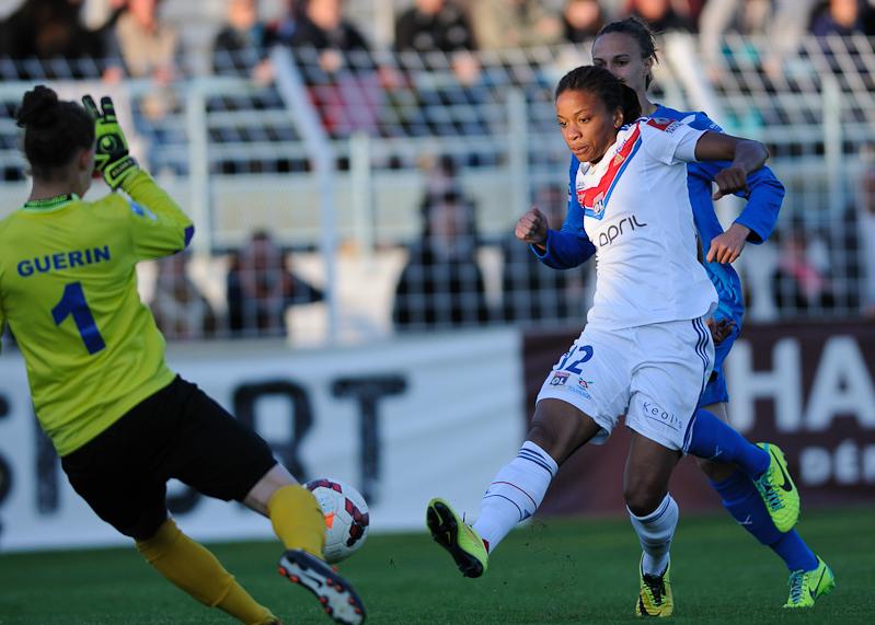 Soyaux-Lyon Championnat de France de D1 - Football Féminin