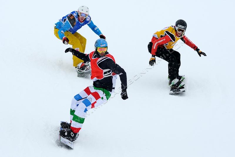 Coupe d'Europe de Snowboard Cross - Peyragudes - Pyrénées