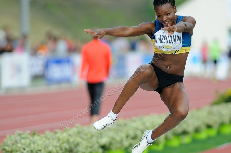 Décastar 2014 - Talence - Heptathlon - Annaelle Nyabeu Djapa