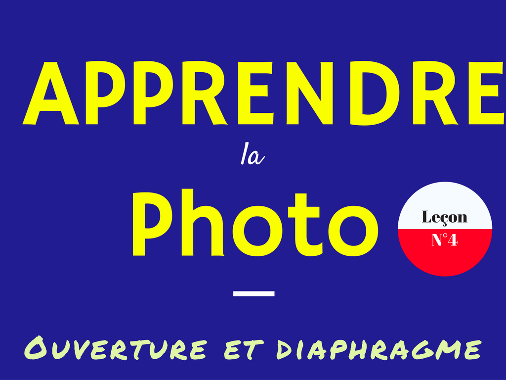 photo ouverture diaphragme