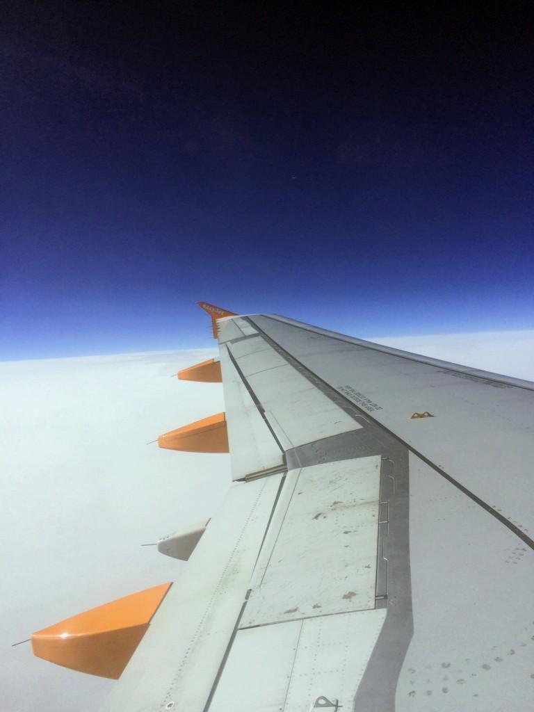 Voyage Londres - avion
