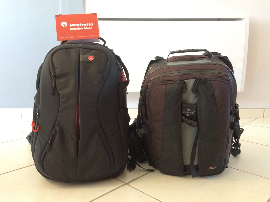 Sac Manfrotto Bumblebee 220 PL - LOWEPRO Vertex 200AW