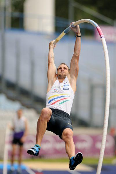 Championnats de France d'Athlétisme - Renaud Lavillenie - Perche - Lille