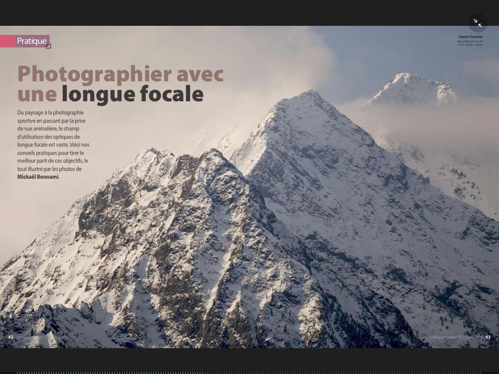 Publication Chasseur d'Images Mickaël Bonnami
