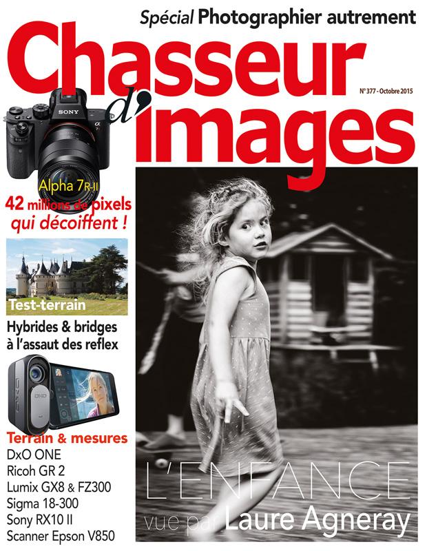 Couverture magazine Chasseur d'Images N°377 Octobre 2015