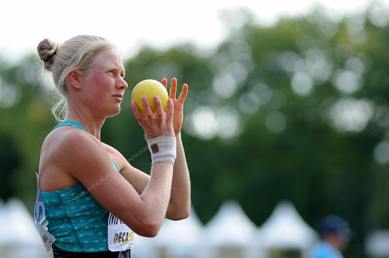 Décastar 2015 - Heptathlon - Lancer de Poids - Ida Marcussen