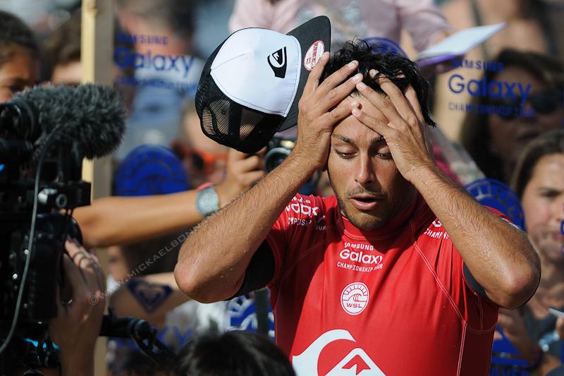 Quiksilver Pro France 2015 - Hossegor - Jérémy Florès