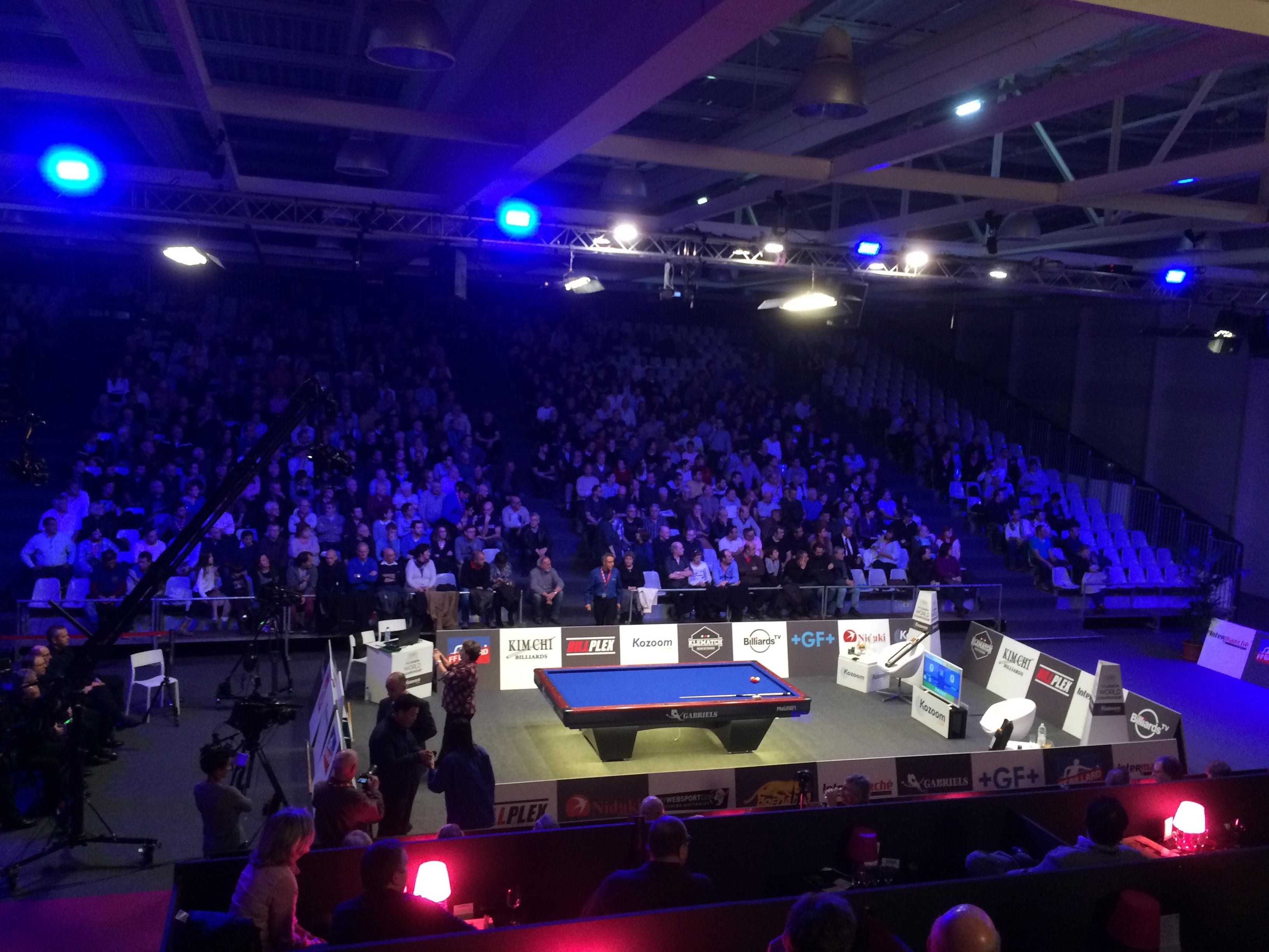 Championnat du monde de Billard 3 bandes - Bordeaux
