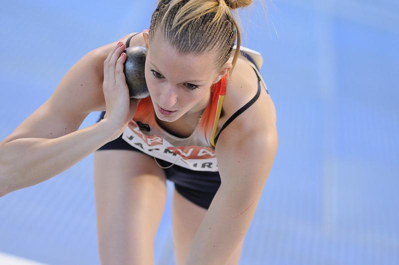 Championnats de France d'Athlétisme 2014 - Bordeaux - Sandra Jacmaire - Mickaël Bonnami Photographe