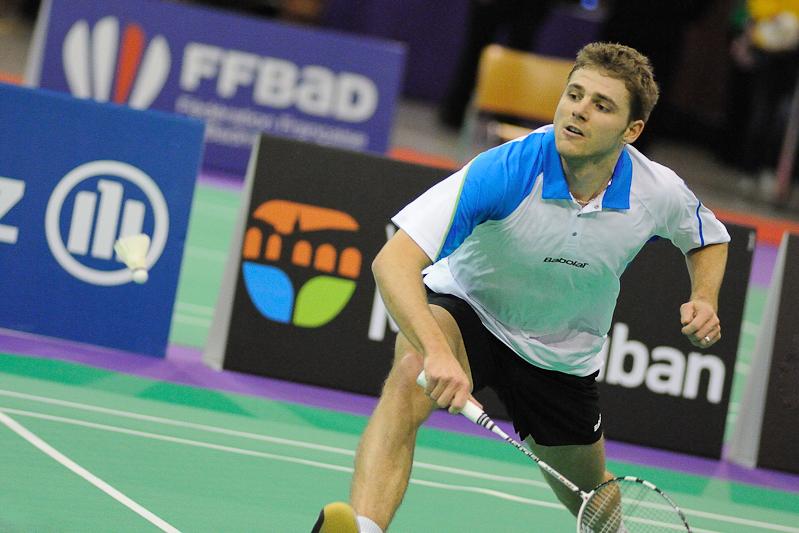 Championnats de France de Badminton 2012 - Brice Leverdez - Mickaël Bonnami Photographe