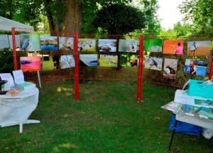 Exposition photo lors du festival des Photographicofolies de Saint-Denis-de-Pile - Sport, Nature et Paysages d'Aquitaine - 7 et 8 juillet 2012