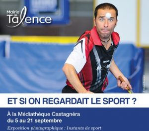 Exposition photo à la médiathèque de Talence - Et si on regardait le sport ? - 5 au 21 septembre 2013