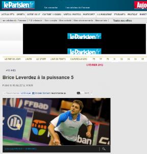 Parution dans le journal Le Parisien - 6 février 2012
