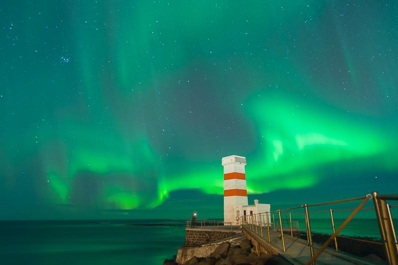 Aurores Boréales - Islande - Aurora Borealis - Garður - Mickaël Bonnami Photographe