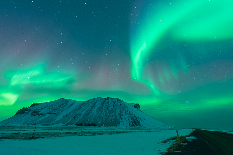 Aurores Boréales - Islande - Aurora Borealis - Mickaël Bonnami Photographe