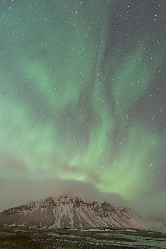 Aurores Boréales - Islande - Aurora Borealis - Hofn - Mickaël Bonnami Photographe