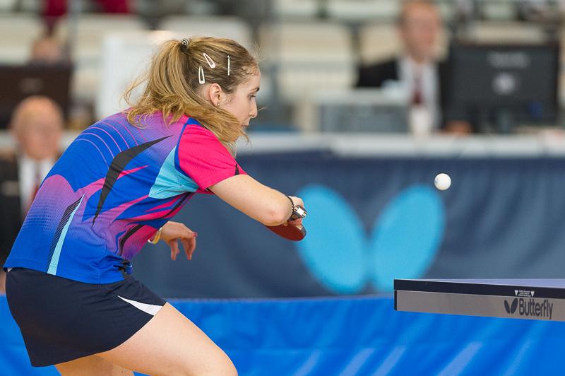 Tournoi international de Tennis de table de Cognac 2016 - Tableau féminin