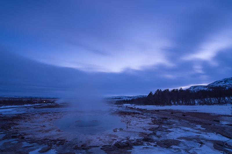 Icelandic Landscapes - Paysages d'Islande - Blue Strokkur - Mickaël Bonnami Photographe