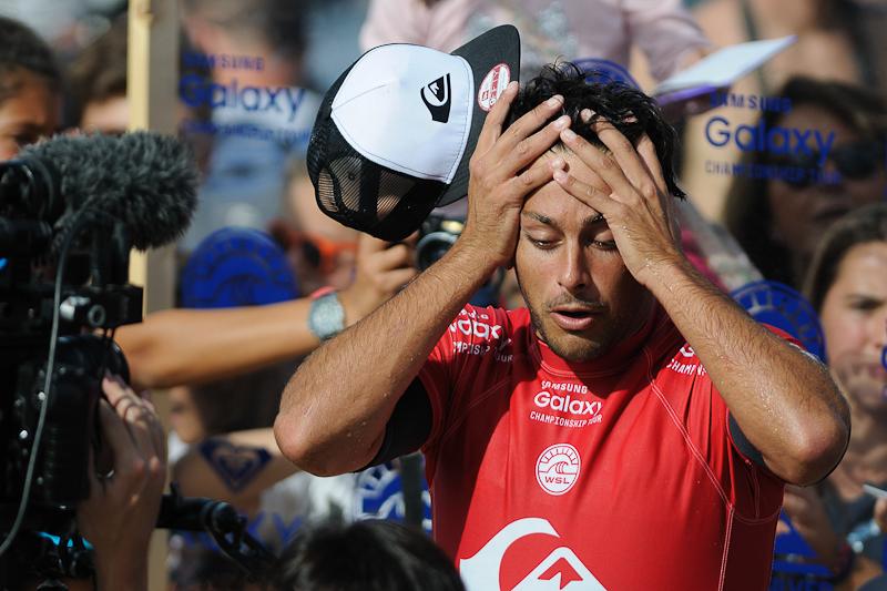 Quiksilver Pro France 2015 - Hossegor - Jérémy Flores