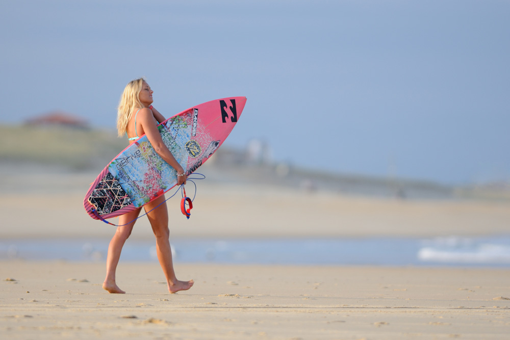 Swatch Girls Pro 2014 - Hossegor - Ellie-Jean Coffey - Surf - Photo de sport
