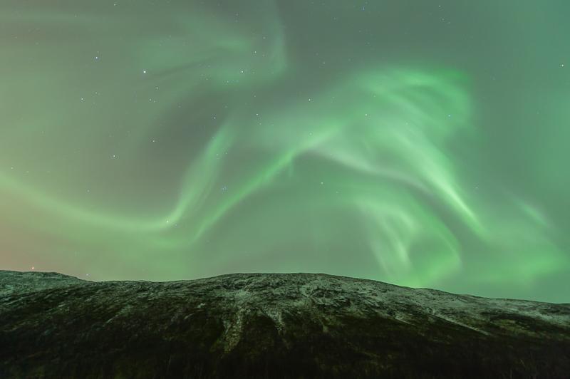 Aurores boréales près de Tromsø - Norvège Aurores-bor%C3%A9ales-Norv%C3%A8ge-10