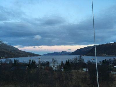 Fjord sur l'île de Kvaløya - Norvège
