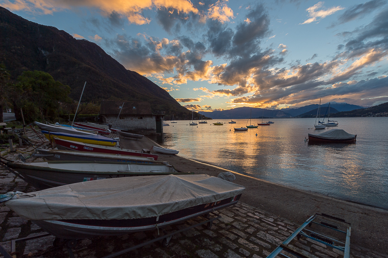 Lac Majeur - Castelveccana - Italie