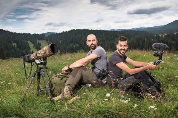 Web-série Animalis - Fabien Wohlschlag et Julien Donzé (le grand JD)