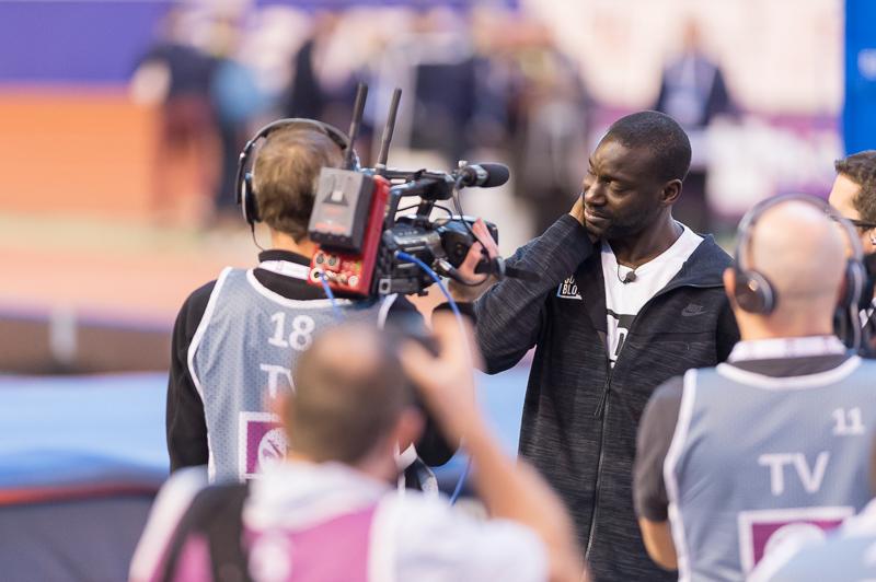 Championnats de France Athlétisme 2017 - Hommes - Bordeaux - Les adieux à la compétition de Ladji Doucouré