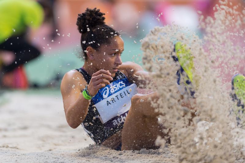 Championnats de France Athlétisme 2017 - Femmes - Bordeaux - Laura Arteil