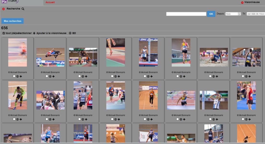 PixTrakk, le traçage de vos photos ou vos œuvres - Photos en ligne sur le serveur Pixtrakk
