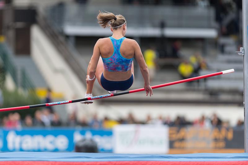 Décastar 2017 - Heptathlon - Talence - Xénia Krizsán