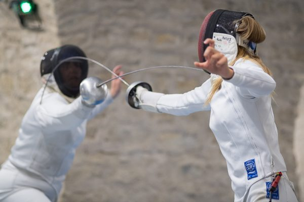 Challenge international Bordeaux - Escrime - Épée - Axelle Wasiak